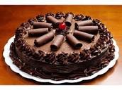 Podes comer torta de chocolate