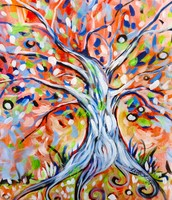 FUNKY TREE - Afternoon Paint!