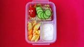 Very Hungry Caterpillar Toddler Bento Box