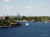 This is the Stockholm Canal