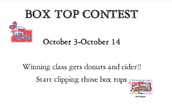 BOX TOP COMPETITION!!!!