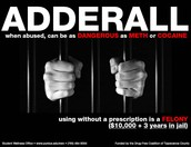 Use of Adderall