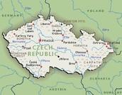 Czech Republic's location