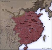The part of China that the Song Dynasty Controlled