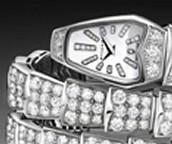 Ladies Dimond Watch -Serpenti Collection