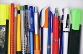 Classroom supplies you will need: