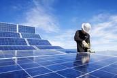 work hard playhard with solar power