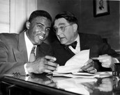 Jackie and Branch Rickey together