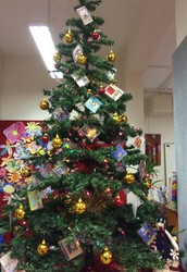Merry Christmas from all of us at the Peak School Library!