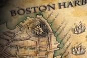 Boston Harbor map