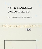 Art & Language Incomplete