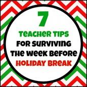 Surviving the Week Before Break