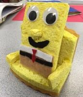 A chair for SpongeBob Squarepants