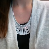 The Essential Fringe necklace - my jam!