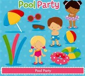 pool party/ boys and girls
