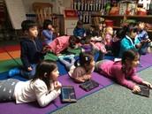 Nancy - Rekenreks on iPads