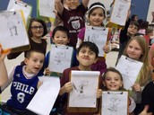 Mrs. Scotti's Class Show Off Their Illustrations