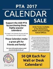 PTA Calendars