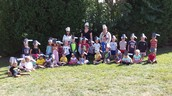 Kindergarten in their Soup Pot hats!