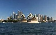 Front view of Sydney
