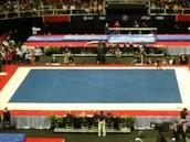 flloor in gymnastics
