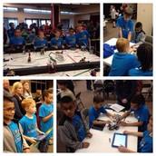 RoboSTEM Team Competes - 1st Scimmage of the Season!