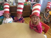 """Cat in the Hat"" hats"