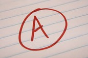 """In order to earn a """"A"""" in a class, students must earn"""