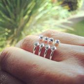 Gemini Ring, silver M/L $15, (orig. $29)