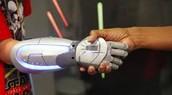 cyborg shakes someones hand$$$$$