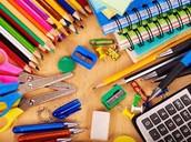 School Supplies for 2016-2017