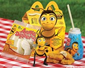 Happy meal paired with The Bee Movie