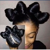 Natural Hair Bows