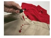 Water and stain resistant clothing
