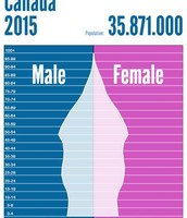 Population Pyramid in 2015