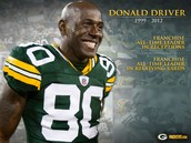Donald Driver Retired