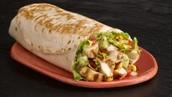Grilled Chicken Burrito