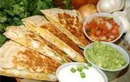 Quesadillas and Gaucamole