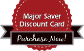 Major Saver Discount Card Campaign