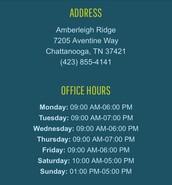 Location & Tour Hours