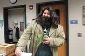 Hagrid, also known as Mr. Bodie