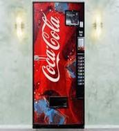 Vending machine door