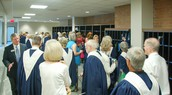 Robing Area