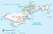 Location of island