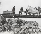 Transporting large rocks!