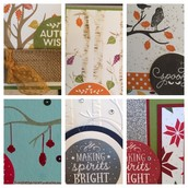 October Card Kits by Mail!