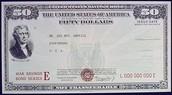 A $50 War Bond