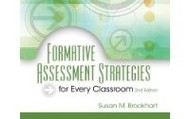 Brookhart: Formative Assessment Strategies