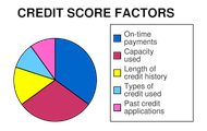 The Factors of a Credit Score