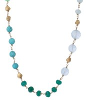 Aileen necklace in turquoise